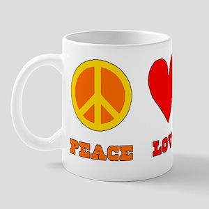 Peace Love Chili Mug
