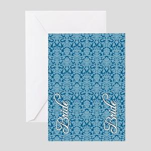 flip_flops_2_bride_04 Greeting Card