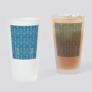 flip_flops_2_bride_04 Drinking Glass