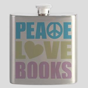 peacelovebooks Flask