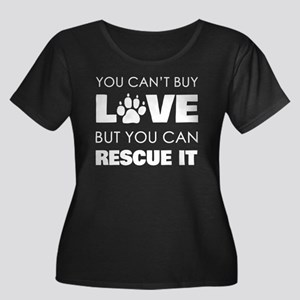 You Cant Buy Love But You Can Re Plus Size T-Shirt