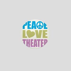 peacelovetheater Mini Button