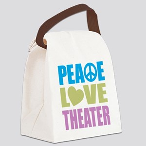 peacelovetheater Canvas Lunch Bag
