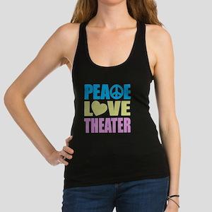 peacelovetheater Racerback Tank Top