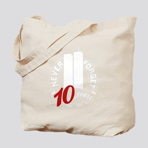 10yrs-NeverForget-1 Tote Bag