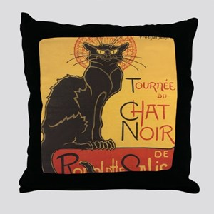 chatnoirstadium Throw Pillow
