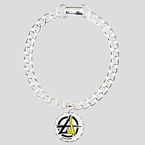 Anarchist - Voluntarist  Charm Bracelet, One Charm