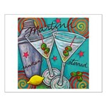 """""""Retro Martini"""" Medium Poster Print"""