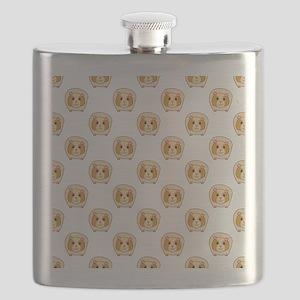 Guinea Pig Pattern Flask