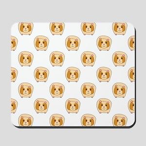 Guinea Pig Pattern Mousepad