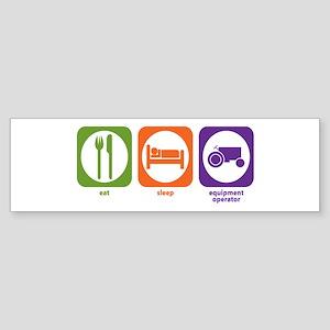 Eat Sleep Agricultural Bumper Sticker