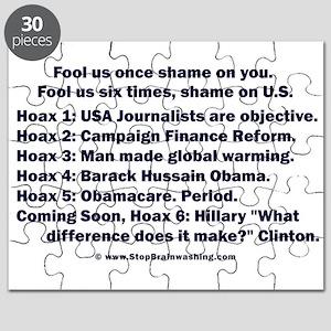 Hoax 1-6 Puzzle
