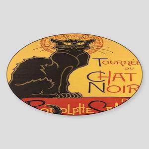 chatnoirlap Sticker (Oval)