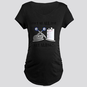 RockPaperScissors Maternity Dark T-Shirt