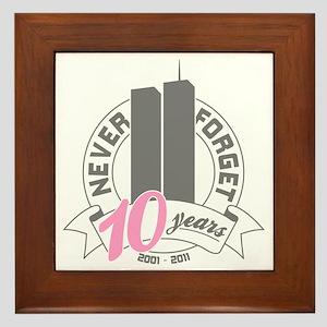 10yrs-womans-2 Framed Tile