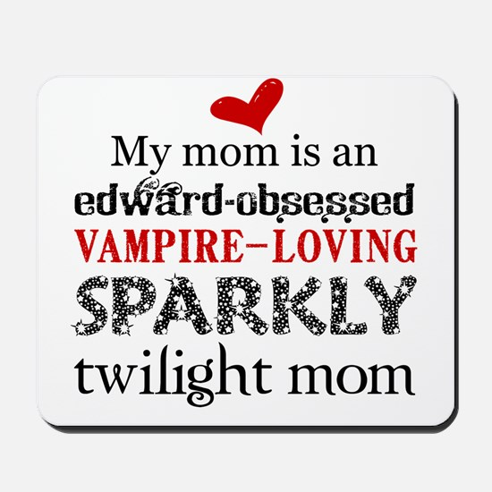 Sparkly Baby Mom2 Mousepad