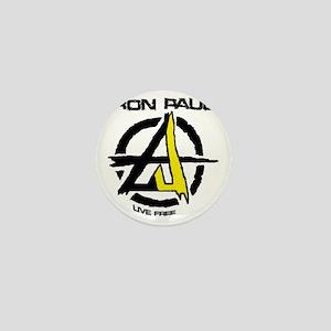 Anarchist - Voluntarist tattoo Ron Pau Mini Button