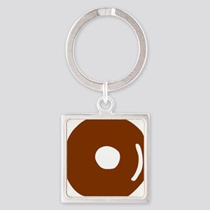 donut_bagel Square Keychain