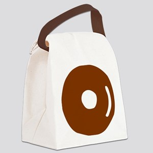 donut_bagel Canvas Lunch Bag