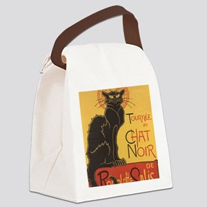 chatnoirposter Canvas Lunch Bag