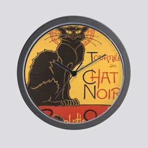 chatnoirposter Wall Clock