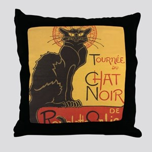 chatnoirposter Throw Pillow