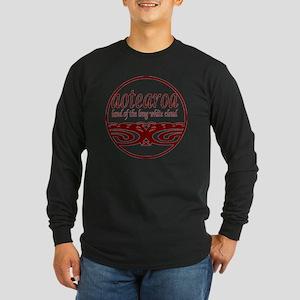 Aotearoa-Large Long Sleeve Dark T-Shirt