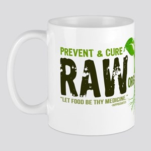 RawFood_DARK_Background Mug