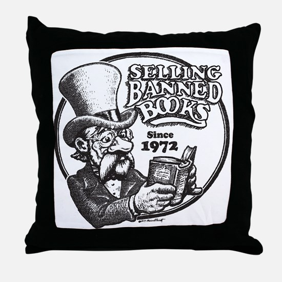 BBAWShirt-Front Throw Pillow