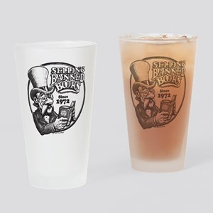 BBAWShirt-Front Drinking Glass