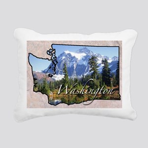 Wasington Rectangular Canvas Pillow