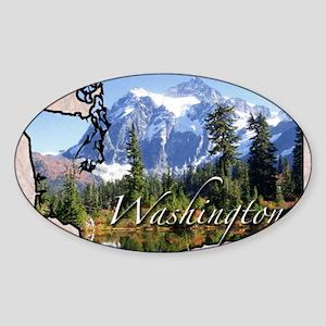 Wasington Sticker (Oval)