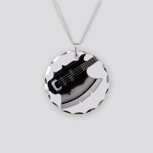 GS-AXE-hr Necklace Circle Charm