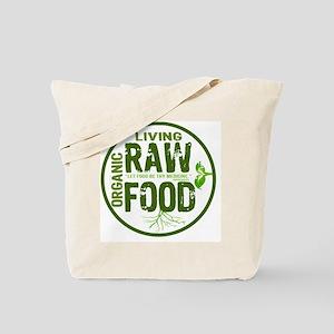 RAWFOODBUTTON2 Tote Bag