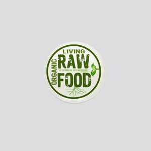 RAWFOODBUTTON2 Mini Button