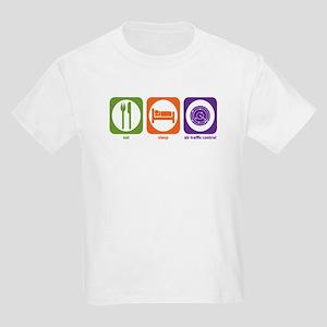 Eat Sleep Air Traffic Kids T-Shirt