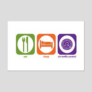 Eat Sleep Air Traffic Mini Poster Print