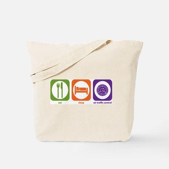 Eat Sleep Air Traffic Tote Bag