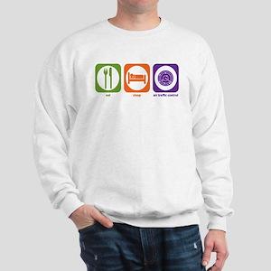 Eat Sleep Air Traffic Sweatshirt