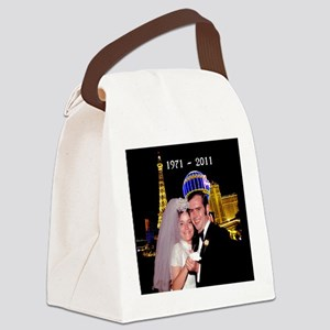 2011 married couple Canvas Lunch Bag