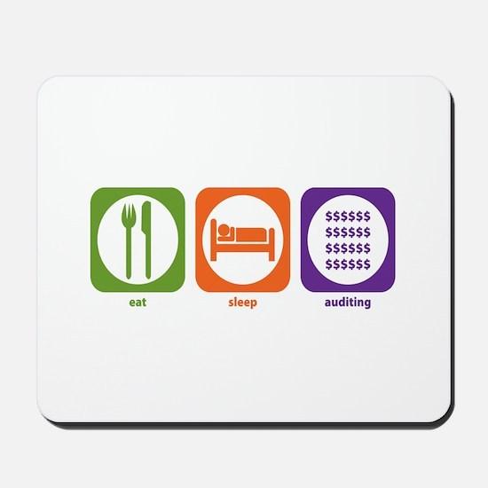 Eat Sleep Auditing Mousepad