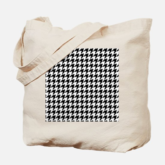 Houndstooth FF Tote Bag