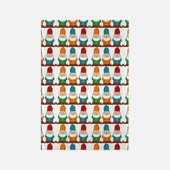 gnomesflipflops3 Rectangle Magnet