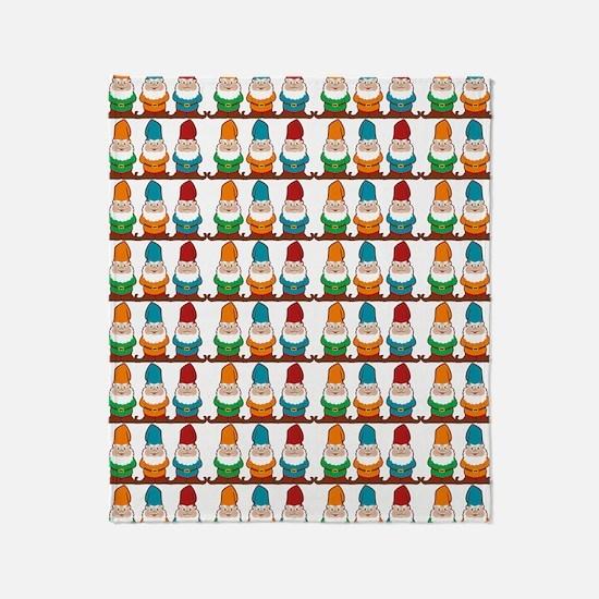 gnomesflipflops3 Throw Blanket