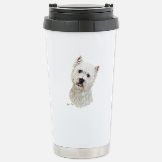 West Highland White Terrier Stainless Steel Travel
