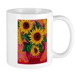 Funky Floral Mugs