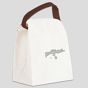 Phantom Tactical White Canvas Lunch Bag
