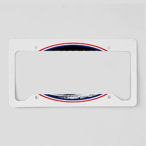 apollo 18 5x3 logo License Plate Holder