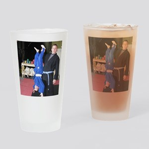 Hanging Out Drinking Glass