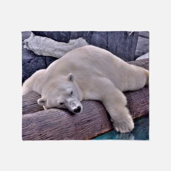 Polar Bear - LPF Throw Blanket